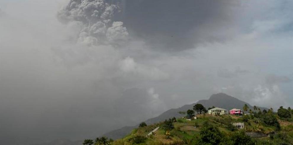 Volcán La Soufriere