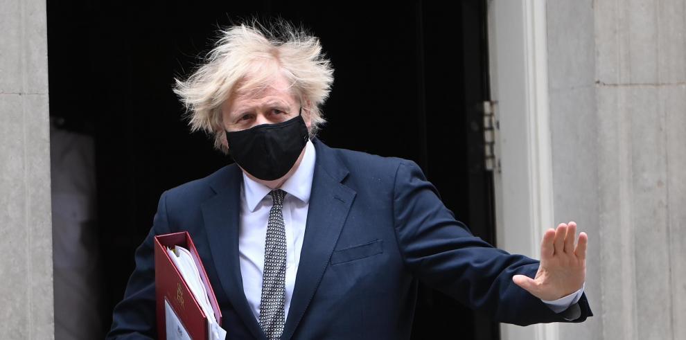 Primer ministro británico, Boris Johnson