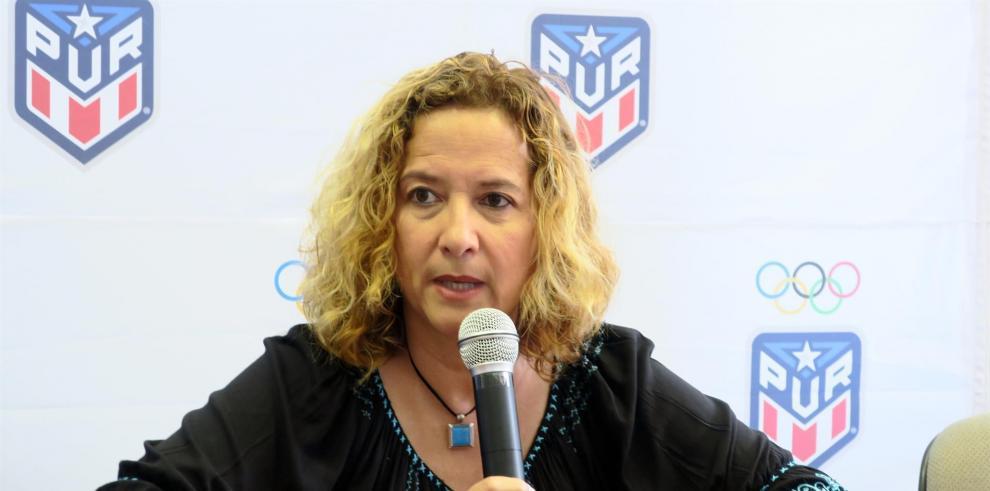 La presidenta del Comité Olímpico de Puerto Rico (Copur), Sara Rosario