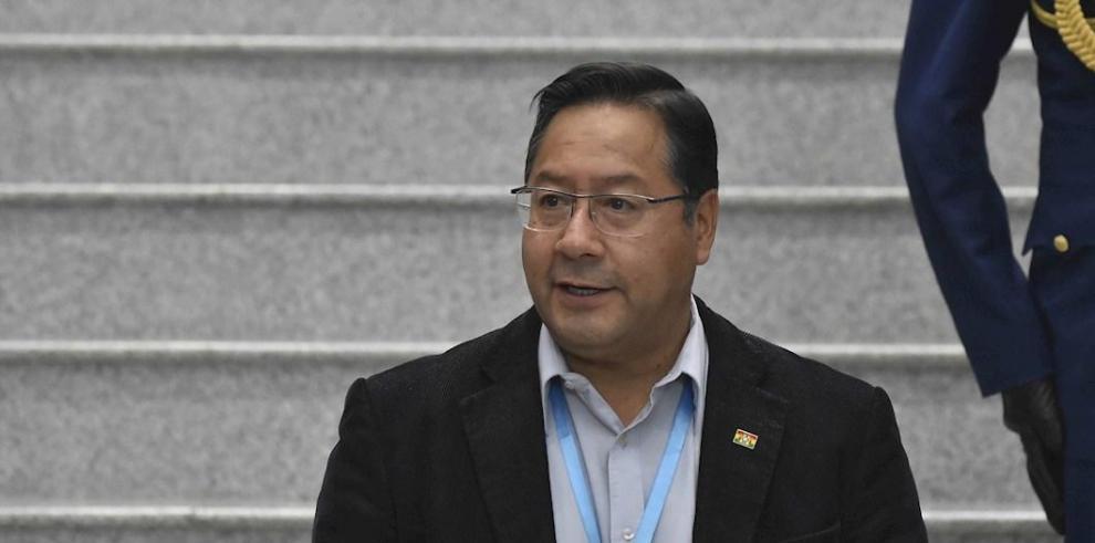 Luis Arce, presidente de Bolivia