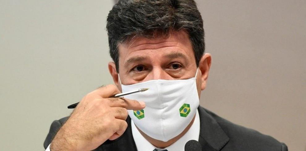 El exministro de Salud Luiz Henrique Mandetta