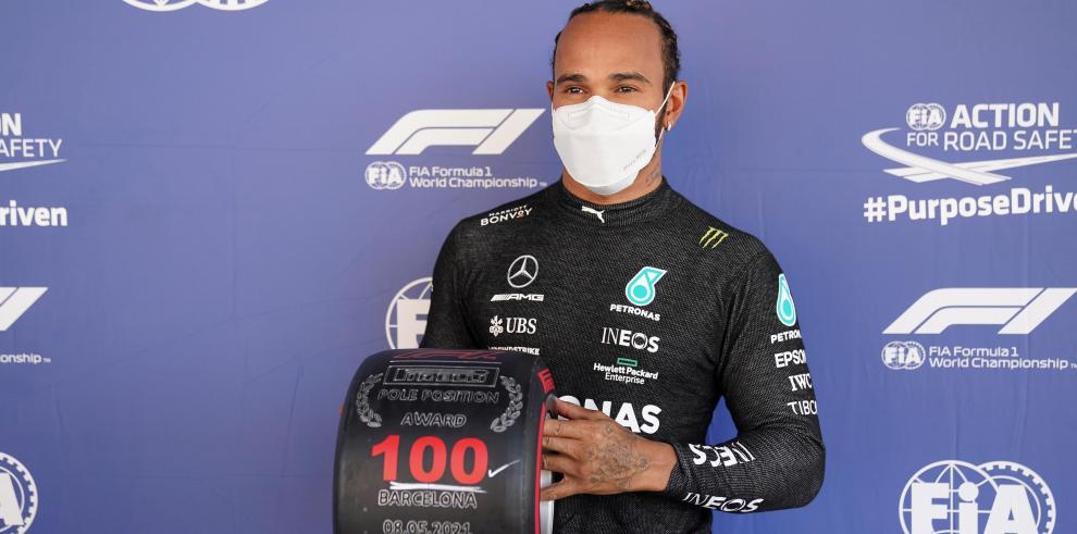 El británico Lewis Hamilton (Mercedes)