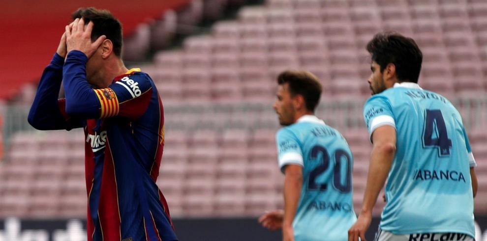 EL Barcelona perdió 2-1 ante el Celta