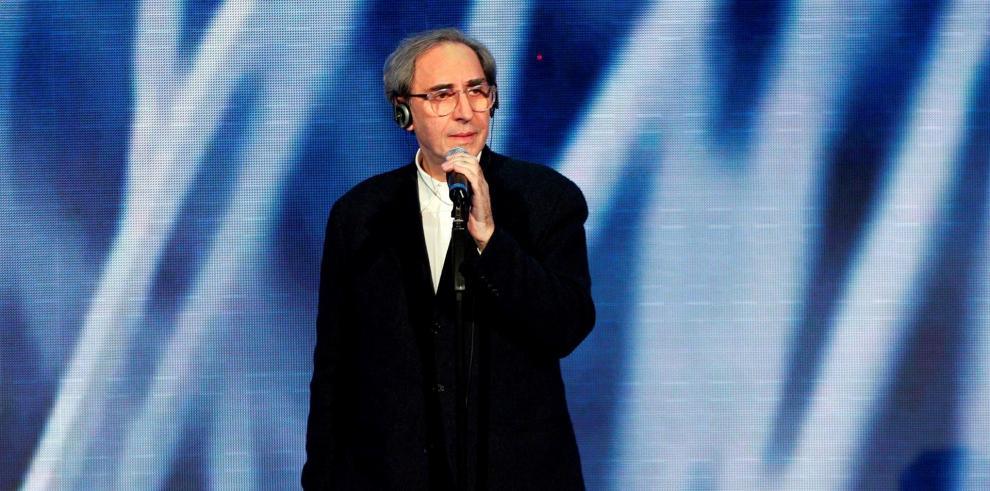 Fotografía de archivo del 12/01/2009 del cantante italiano Franco Battiato