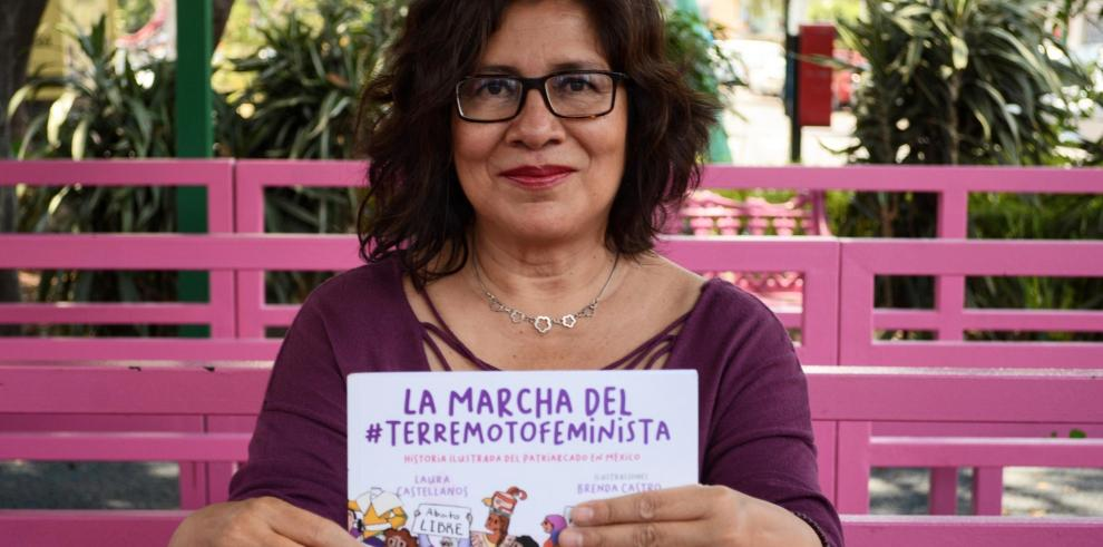 Escritora Laura Castellanos