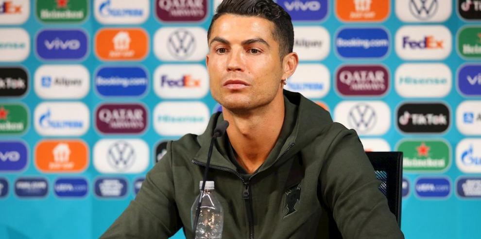 El luso Cristiano Ronaldo, jugador de fútbol