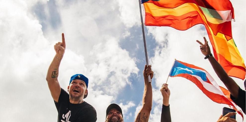 Bad Bunny, Residente y Ricky Martin confrontan al gobernador de Puerto Rico