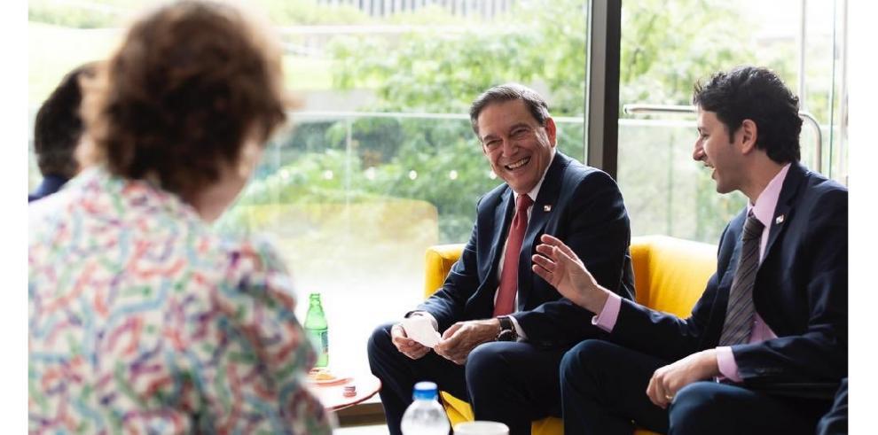 Presidente Cortizo Cohen planea 'replantear' Atlapa para convertirlo en centro cultural