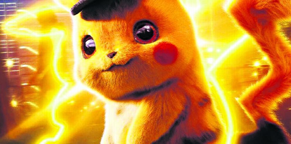 Detective Pikachu y los 'monstruos de bolsillo'