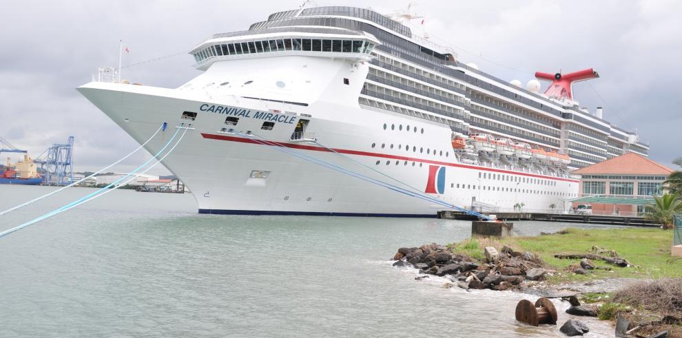 Cruceros sostienen las estadísticas de turismo en Panamá