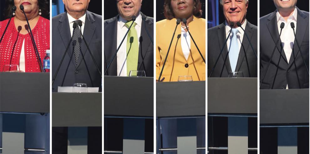 Debate de aspirantes a la vicepresidencia, lejos de pugnas o controversias