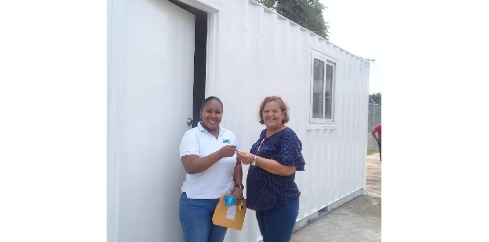 Jinro Corp. dona aula de clases a escuela en Colón