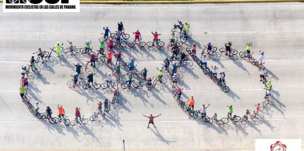 La bicicleta monumental más grande de Panamá