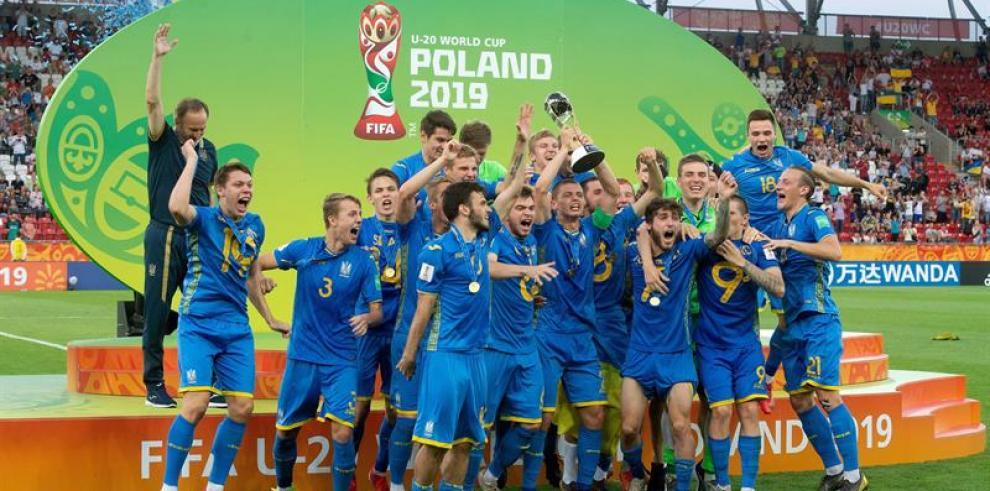 Ucrania, campeona del mundo tras ganar a Corea del Sur 3-1