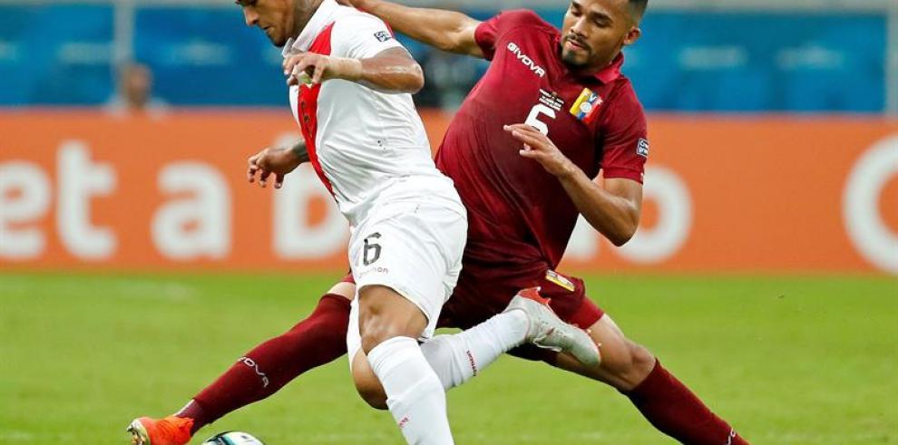 Venezuela y Perú plasman igualdad con empate sin goles y un gran Faríñez