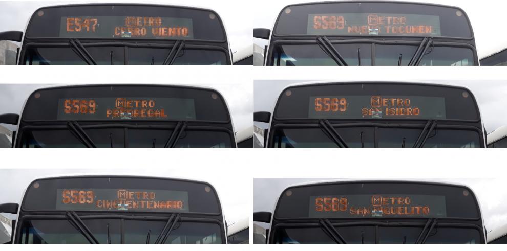 Ruteros de buses mostrarán palabra 'Metro' al llegar a paradas cerca de las estaciones