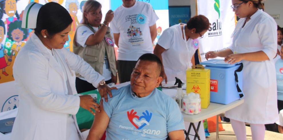 Minsa inicia jornada de vacunación