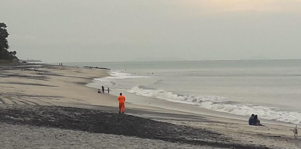 Sinaproc: joven desaparece en playa Gorgona arrastrado por el oleaje