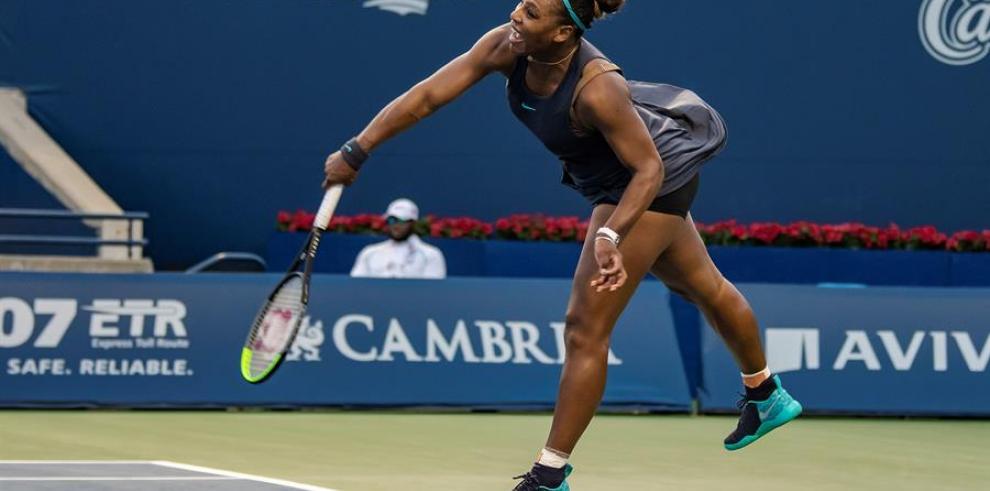 Serena Williams se retira lesionada de la final del torneo de Toronto