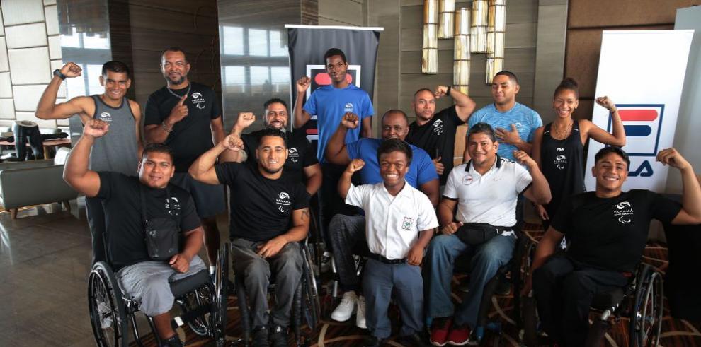 Comité Paralímpico presenta a la delegación panameña que acudirá a Lima