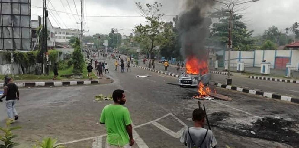 Violentos disturbios en una manifestación independentista en Papúa indonesia