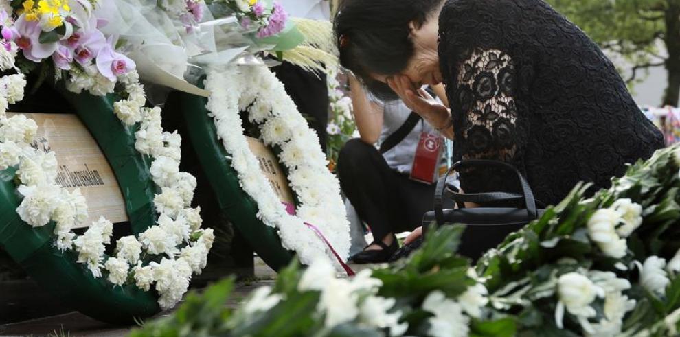 Japón recuerda 74 años de ataque atómico de EEUU y urge al desarme nuclear global