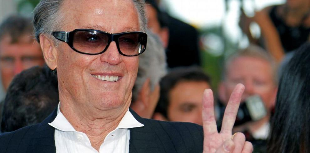 Cinéfilos le dicen adiós al 'rebelde' Peter Fonda