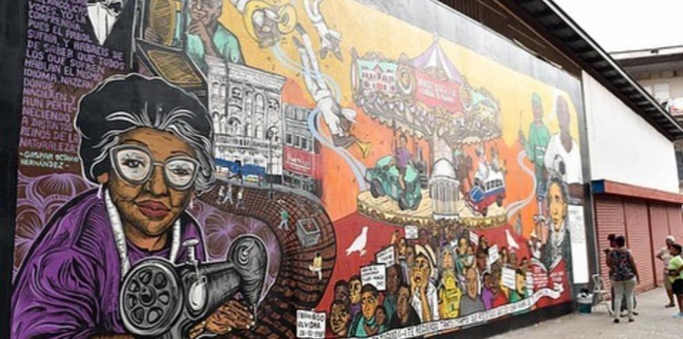 Martanoemí, detrás del arte que reviste la ciudad en sus 500 años