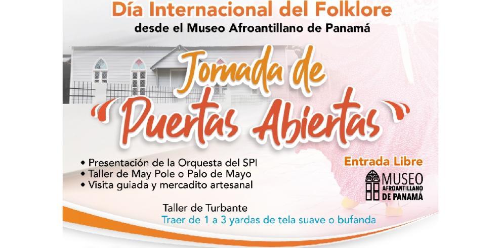 Museo Afro Antillano de Panamá celebrará el Día Internacional del Folklore