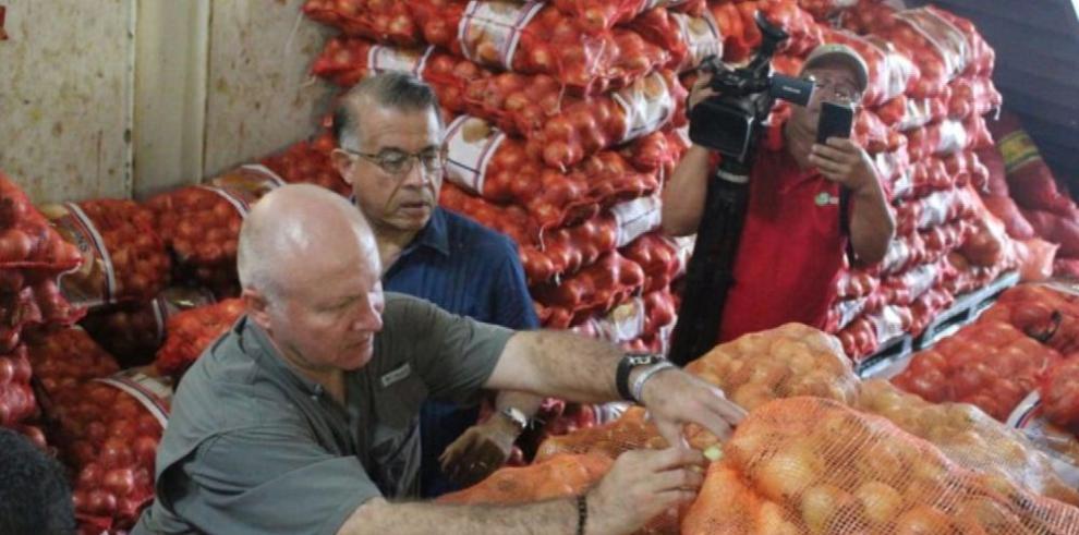 Embarque de cebolla importada empieza a distribuirse esta semana