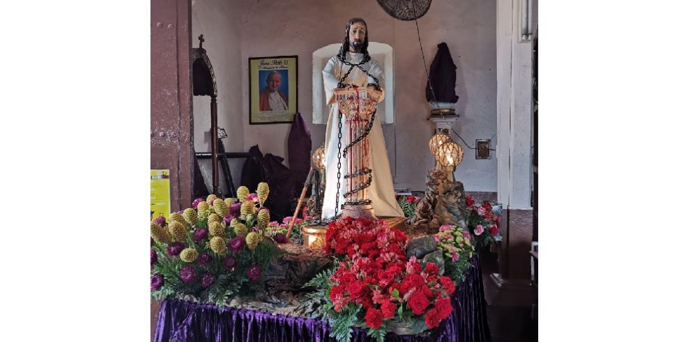 Taboga vive el Viernes Santo