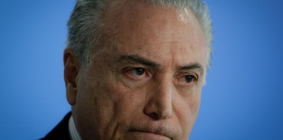 La Fiscalía acusa a Temer de liderar organización criminal en Brasil