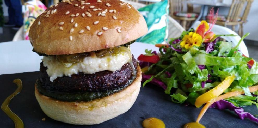 El cielo es el límite para las hamburguesas veganas