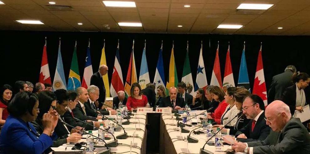 Grupo de Lima condena sin México detención del jefe del Parlamento venezolano