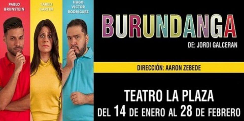 Ríase con 'Burundaga' en el teatro La Plaza