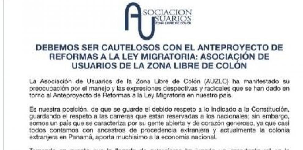 Usuarios de la Zona Libre piden cautela con las reformas migratorias