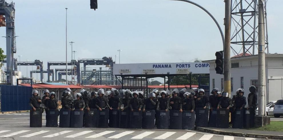 Trabajadores de Panama Ports anunciaron paro laboral