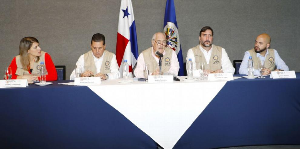 La OEA califica de 'exitosa' la jornada electoral en Panamá