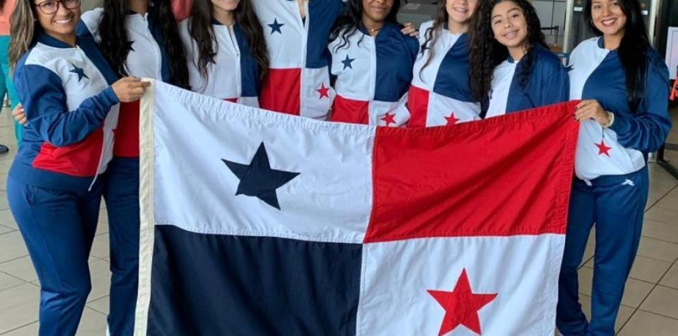 Panamá en competencia internacional de nado artístico