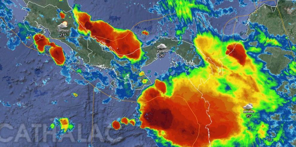 Sinaproc alerta sobre mal tiempo para las provincias de Veraguas, Bocas del Toro y NGäbe Buglé