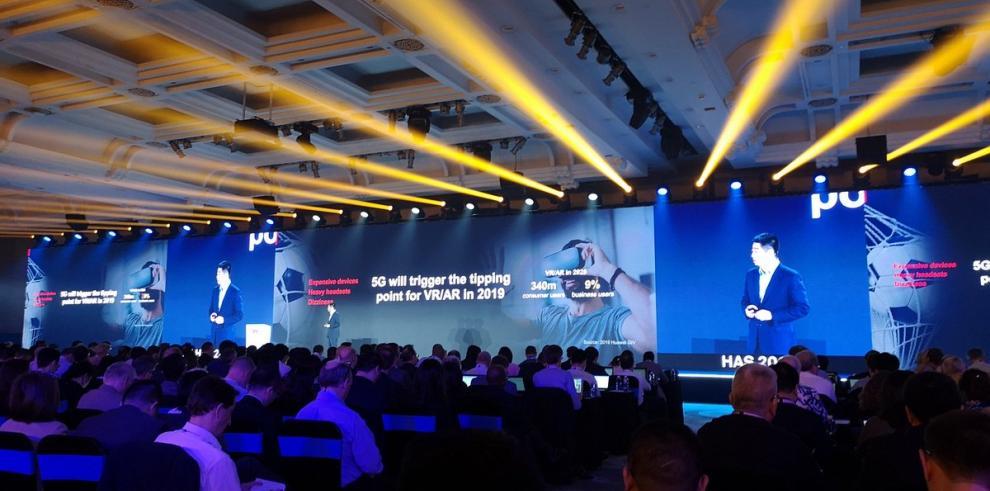 Huawei muestra tecnología 5G en exhibición de Malasia