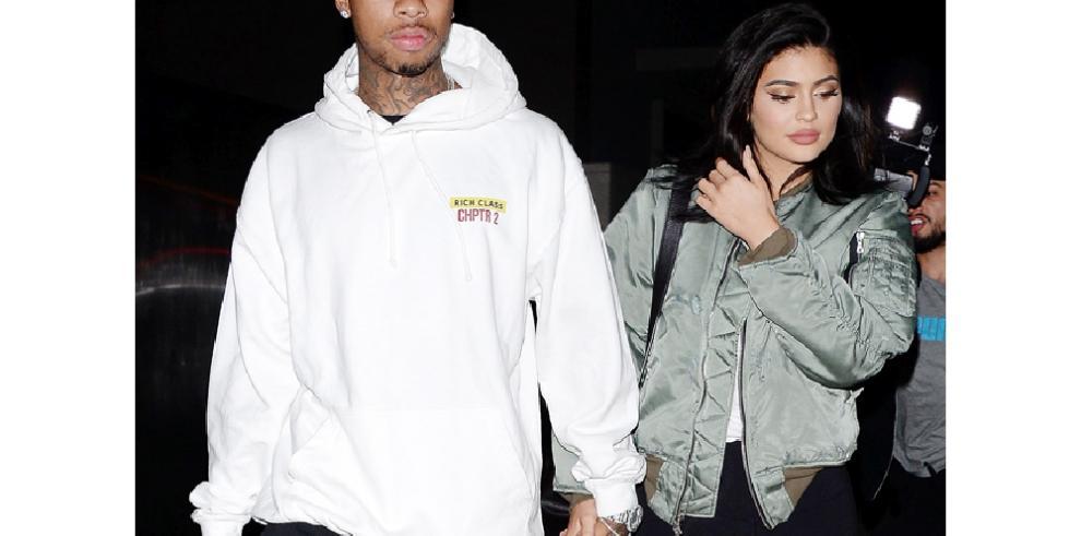 Tyga se niega a hablar de su antigua relación sentimental con Kylie Jenner