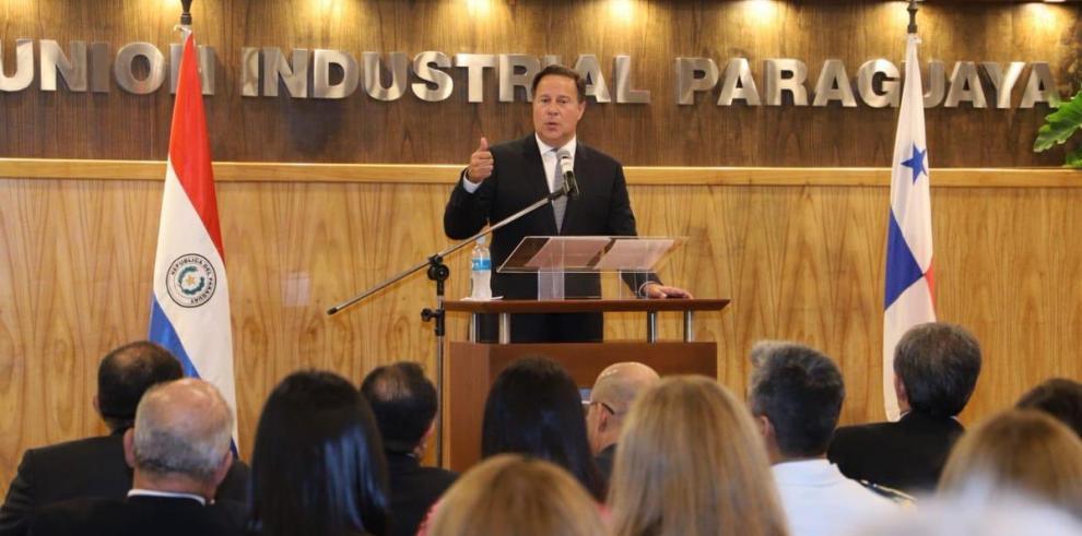 Varela dice que Panamá aspira a ser puerta del turismo hacia Paraguay