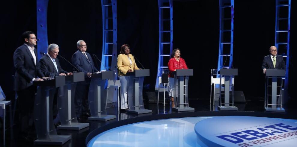 Encuentro de candidatos a vicepresidente