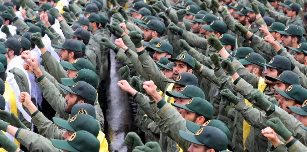 EE.UU. designa como grupo terrorista a la Guardia Revolucionaria iraní