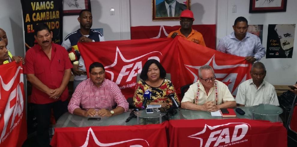 FAD denuncia proceso fraudulento en elecciones generales de 2019