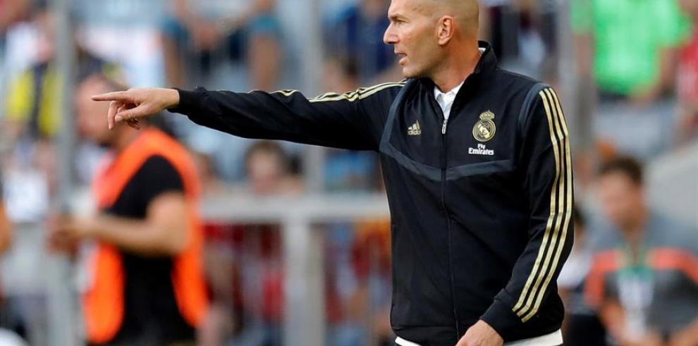 Zidane, sobre debate en la portería:
