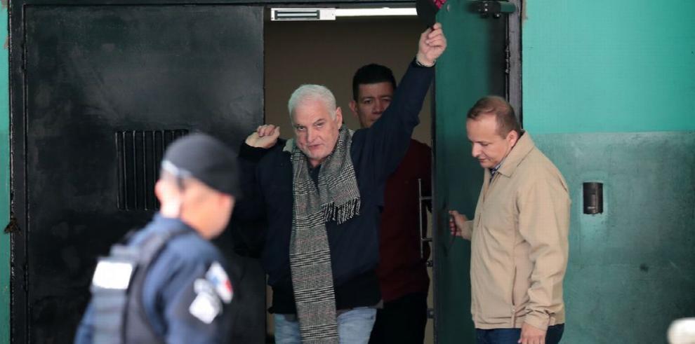 Tribunal no admite peticiones de la defensa de Martinelli