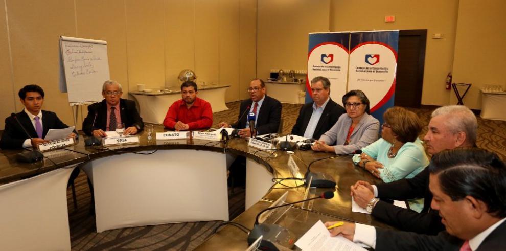 Concertación insta a presentar plan de Gobierno
