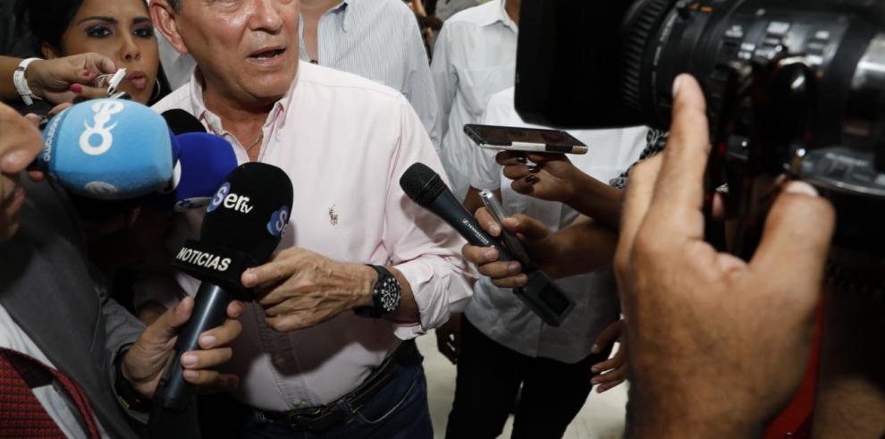 Cortizo se reúne con magistrados del Tribunal Electoral